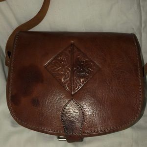 Moroccan handmade crossbody handbag
